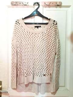 CREME KNIT SWEATER