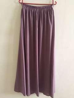 Skirt labuh Dusty Purple