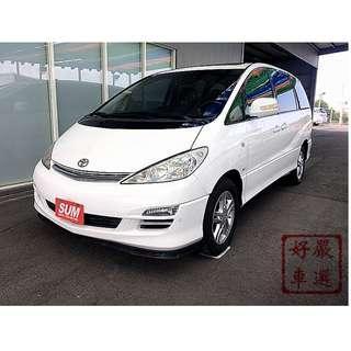 2005年Previa 白 2.4L 保證實車實圖  高鼎汽車歡迎您來電洽詢!!