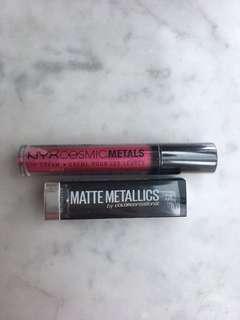 Lip Set: Brand New NYX + Maybelline