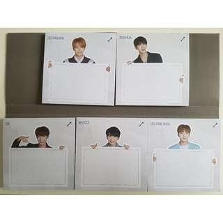 [INSTOCK] SEVENTEEN Ideal Cut Sticky Memo It - Vocal Team