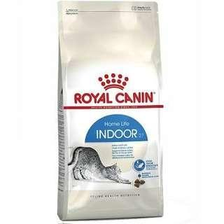2 x Royal Canin Indoor27 10Kg