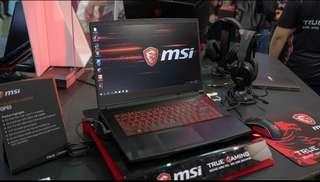 Kredit MSI GF63 Black (Laptop Gaming)