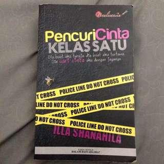 Novel Pencuri Cinta Kelas Satu