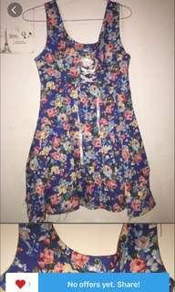 Koran flower dress #1010