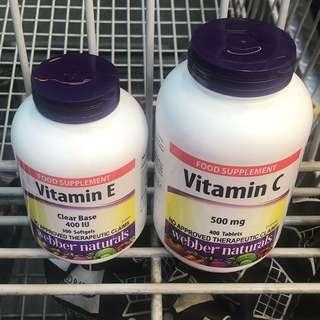Skin Care Essentials Webber Natural Vitamin C Vitamin E