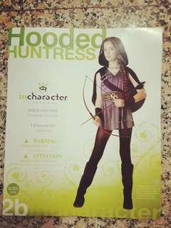 Hooded Huntress Costume for Halloween