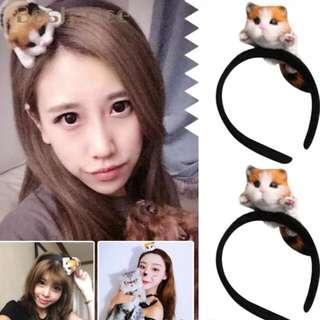 Kawaii cat headband kids and adult