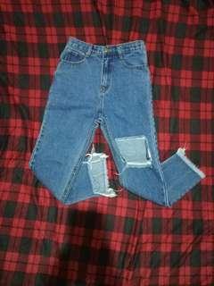 Korean pants size 27