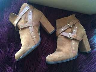 Topshop Tan Boots