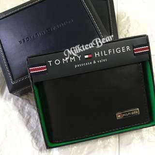 🇺🇸直送Tommy Hilfiger Leather  Wallet (Black)