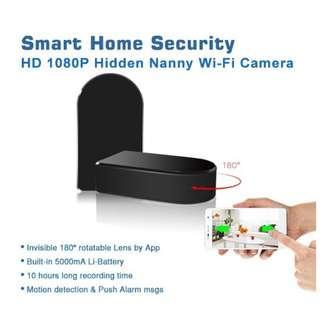 Spy Camera Hidden with rotating len
