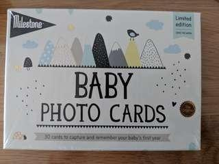 Brand new Baby photo cards - Limited Edition
