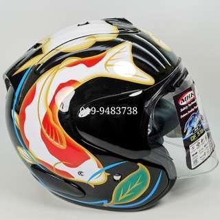 Helmet MHR OF518 KOI Arai Ram III With Visor