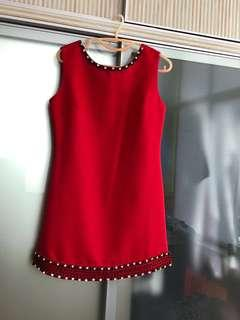 Red dress - suitable for dinner