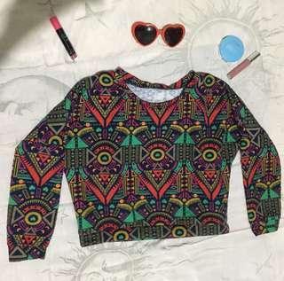 Sweatshirt crop