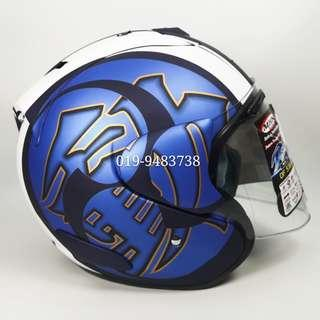 Helmet MHR OF518 Kodo Arai Ram III With Visor