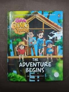 Naura dan Genk Juara : The Adventure Begins (Hard Cover)