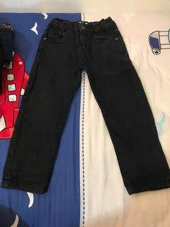 Celana osella jeans hitam 3t