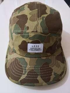 台灣街牌 LESS Camp Cap&棒球帽