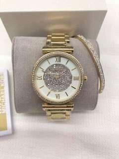 MK Watch Set with Bangle