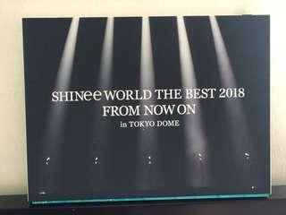 DVD SHINee World The best From now on in Tokyo dome