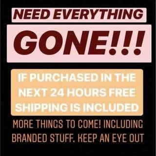 24 HOUR FREE TRACKED SHIPPING!!