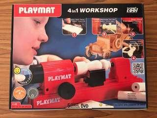 Playmat 4 in 1 workshop toolset