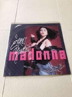 Madonna - Express Yourself LP