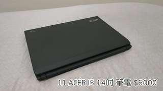 11.ACER I5 14吋 筆電
