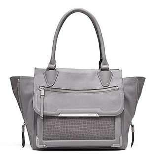 MIMCO Vertigo Leather Tote Handbag
