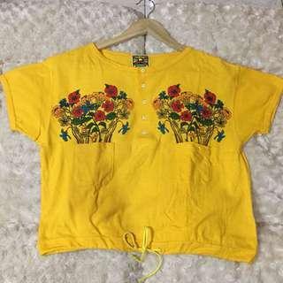 unique yellow tshirt