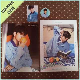 WANNA ONE SUMMER PACKAGE SEONGWOO / JINYOUNG / KUANLIN SET (with FREE GIFTs)