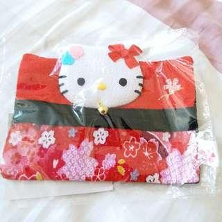 Hello Kitty 紙巾袋 made in 日本京都