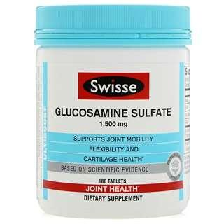 🚚 Swisse, Glucosamine Sulfate, 1,500 mg, 180 Tablets