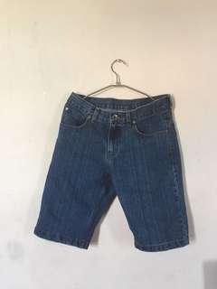 Celana pendek denim carvil