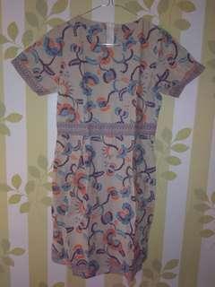 Dress batik new