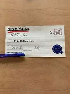WTS Harvey Norman voucher