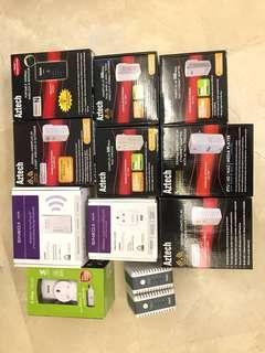 Various Sineoji Aztech Homeplug