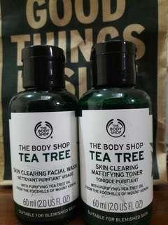 Tea Tree Toner&Facial Wash