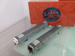 1999年地鐵二十週年列車模型連車票