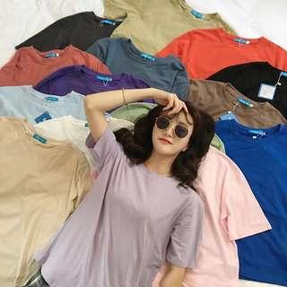 [PO] 15 Colors Basic Fit Tees
