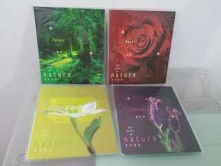 1999年地鐵首創【自然香氛】車票系列一套4張