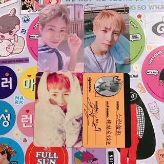 NCT DREAM Renjun Official Photocards