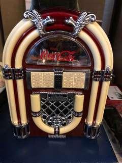 Coca Cola 可口可樂古典木制收音機(香港制造)