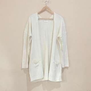 knit long outer