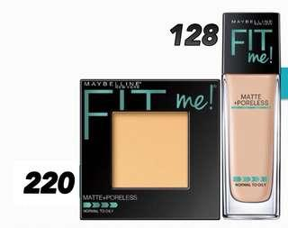 Maybelline Foundation & Powder