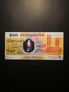 Singapore Polymer $50 (UNC)