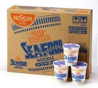 Nissin Seafood Noodles