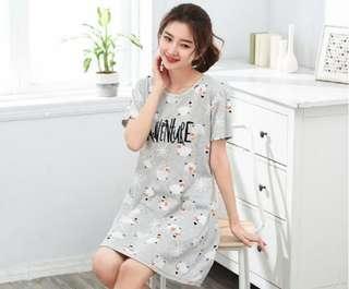🚚 Koream style casuals sleep dress nightgown *Ready SG stock!*